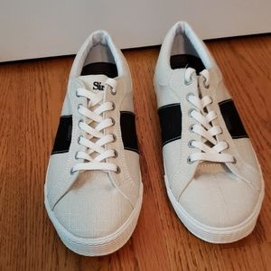 Simple Oatmeal Colored Sneakers